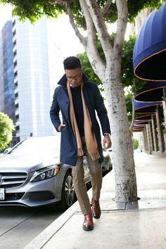 O Look Certo: Com o Melhor do Inverno - Casaco, malha, calça de alfaiataria, botas