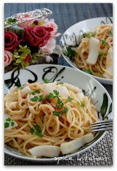 「塩麹たらこスパゲティー」のレシピ by バリ猫さん | 料理レシピブログサイト タベラッテ