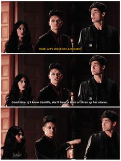 Shadowhunters - Morning Star - Where did they go?<<<just the last picture lol Shadowhunters Tv Series, Shadowhunters The Mortal Instruments, Isabelle Lightwood, Alec Lightwood, Cassandra Clare, Clary And Simon, Shadowhunter Academy, Magnus And Alec, Cassie Clare