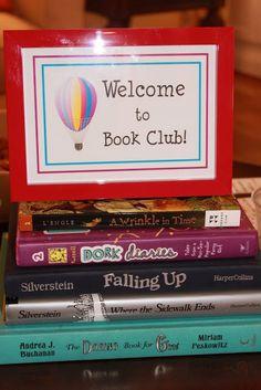 Mirabelle Creations: Kids Book Club -- Bookworms Gone Wild!!