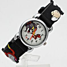 10pcs Hot sale Watch New Tom and Jerry Child Watch Silicon Cartoon Kids Sport Watch Boys quartz   watch Relojes 3D Watch Relog