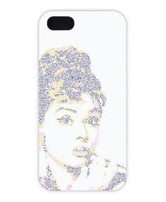 Audrey als iPhone 5/5S Hülle von Viktor Hertz | JUNIQE