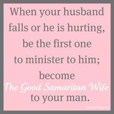 The Good Samaritan Wife and a Marital Oneness Monday Link Up - Jolene Engle @ The Alabaster Jar