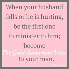 The Good Samaritan Wife and a Marital Oneness Monday Link Up - Jolene Engle @ The Alabaster Jar