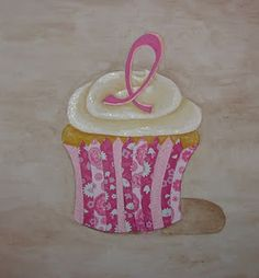 Breast Cancer Awareness Cupcake Art