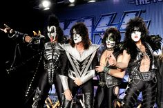 Kiss, Gene Simmons, Tommy Thayer, Eric Singer and Paul Stanley.
