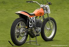 Vintage Classic Motorcycle | Vintage 1977 KTM 250 Champion Short Tracker Motorcycle