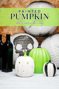 Add a bit of your own flair to your Halloween decor with painted pumpkin decorating! You can make the perfect decor for your home in no time!