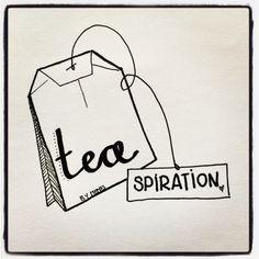 Get ready for some tea-spiration! Is het thee? Ja! Is het inspiratie? Ja! Is het een kleurplaat? Ja! Valt het elke maand bij je in de echte brievenbus als je een abonnement neemt? Ja!  Meer info? Heel binnenkort... Love, MeMe's Art