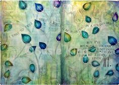 Art Journal Page © Susie King 2013