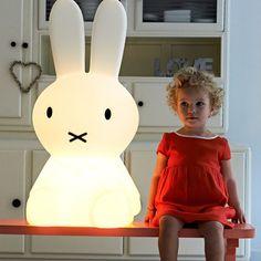 Lampe Miffy L Weiß, 169€, jetzt auf Fab.