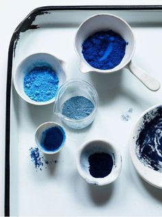 An inspiring round up of inspirations in blue paint, design and decor ideas in the blue interior trend and Pantone 2020 color of the year Classic Blue Azul Indigo, Bleu Indigo, Mood Indigo, Indigo Eyes, Blue Photography, Object Photography, Le Grand Bleu, My Favorite Color, My Favorite Things