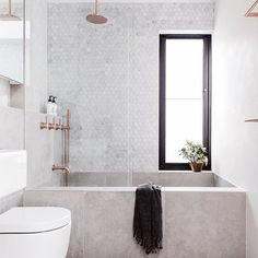 'Minimal Interior Design Inspiration' is a weekly showcase of some of the most perfectly minimal interior design examples that we've found around the web - all Bad Inspiration, Bathroom Inspiration, Bathroom Inspo, Bathroom Tile Designs, Bathroom Interior Design, Modern Interior, Interior Styling, Bathroom Goals, Minimalist Bathroom