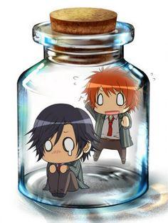 Anime in bottles
