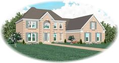 Main image for house plan # 10558