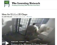 My latest student interactive for English Language Learners at The New York Times is on El Chapo's escape from prison. Students have to determine correct punctuation in a reading passage and then w...