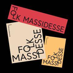 "Gefällt 79 Mal, 1 Kommentare - frank wo (@_frankwo_) auf Instagram: ""Folk Massidesse #brandidentity #graphicdesign #design #contemporary #typography #studio #minimal…"""