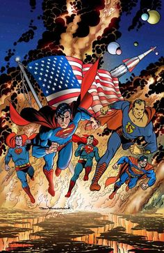 Supermen by Jon Bogdanove