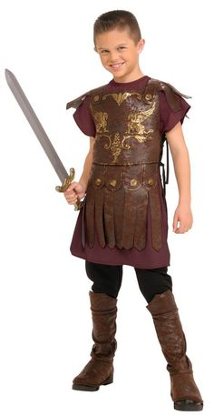 cool Kids Gladiator Costume - Child Medium