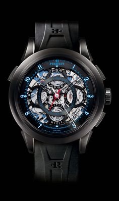 Perrelet A1045/3 split-seconds chronograph, Perrelet Timepieces and Luxury Watches on Presentwatch