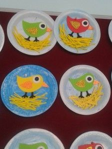 Paper Plate Animal Craft Paper plates are very useful for making crafts. İmagination is the key of this process. Dream and start to make animals, dinosaurs, birds with this paper plates. We made some examples of [. Arts And Crafts For Teens, Art And Craft Videos, Easy Arts And Crafts, Spring Crafts For Kids, Art For Kids, Bird Crafts Preschool, Toddler Crafts, Easter Crafts, Abc Crafts
