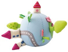 Very cute gift for newborn: Haba Toys Fabric Ball Mini Land