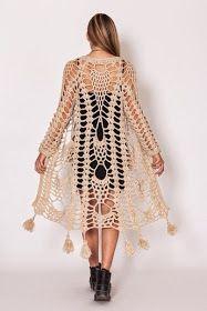 crochelinhasagulhas: Casaco de abacaxi em crochê