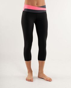 """One of our favorite pants to work out in -- the """"Astro Wunder Under Crop"""" from LuLu Lemon."""