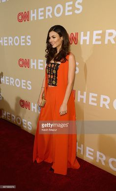 Actress Victoria Justice attends CNN Heroes 2015 - Red Carpet Arrivals at American Museum of Natural History on November 17, 2015 in New York City. 25619_022
