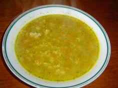 """""""Farská"""" polévka z vaječné jíšky Ethnic Recipes, Soups, Drink, Beverage, Soup, Drinking"""