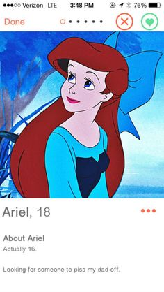 Als Disney prinsessen een profiel hadden op Tinder - Grazia.nl