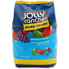 Jolly Rancher Hard Candy 5 Lb Bag ❤ liked on Polyvore featuring food, food and drink, food & drinks, fillers and drinks