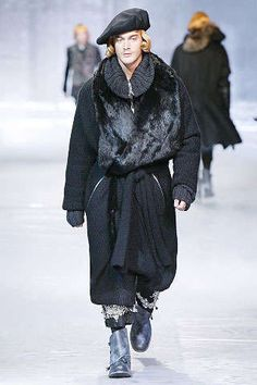 Elizabethan Fashion for Men: John Galliano Fall 2008