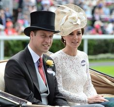 Duke and Duchess at ASCOT 2016