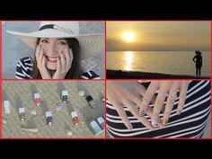 Nautical Nail Art: Mix & Match for Summer! - YouTube