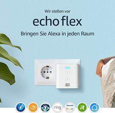 Echo Flex – Altoparlante intelligente con spina integrata e Alexa Amazon Echo, Hue, Carte Sd, Legrand, Alexa Echo, Philips, Smart Home, Computer, Speakers