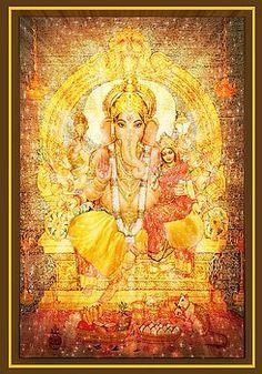 Ganesha Ganapati Print by Ananda Vdovic Ganesha Painting, Ganesha Art, Lord Ganesha, Lord Shiva, Framed Prints, Canvas Prints, Art Prints, Ganesh Chaturthi Images, Lord Hanuman Wallpapers