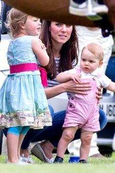 """Kate Middleton And Prince George At The Polo 