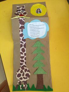 Minik zürafa karnemiz
