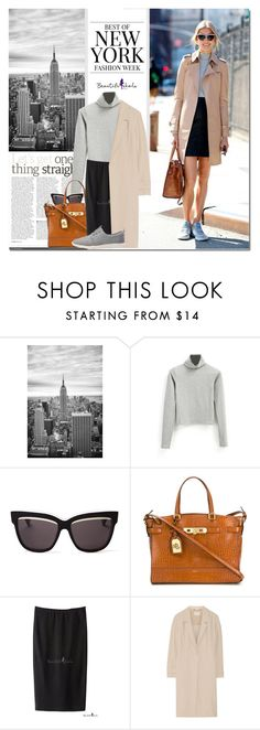 """""""New York Fashion Week Street Style"""" by never-alone ❤ liked on Polyvore featuring Christian Dior, Polo Ralph Lauren, Oscar de la Renta, Jason Wu, TOMS, StreetStyle, casual, polyvorefashion and bhalo"""