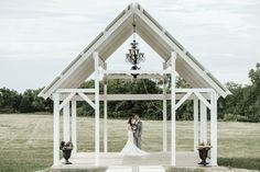 Bright and Moody Open Air Chapel Wedding- Bright and Moody Open Air Chapel Wedding venue: Deer Ridge Estate photography by Juliana Noelle Jumper -