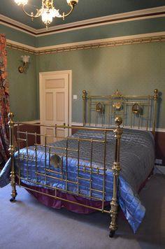 victorian brass bed kingsize - Brass Bed Frames