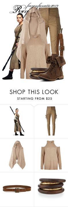 """""""Rey"""" by frozenfanatic2019 ❤ liked on Polyvore featuring Balmain, Avon, River Island, Paige Denim and NEST Jewelry"""