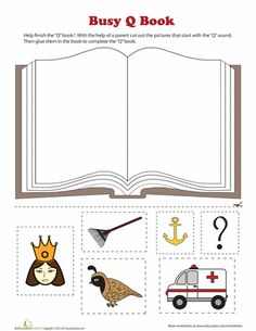 Printable Busy Books for Pre-Reading Practice | Education.com