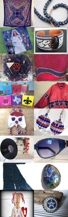 Team Unity Finds by Jennifer Burrell on Etsy--Pinned with TreasuryPin.com #Etsyvintage #Estyhandmade #giftideas #springfinds