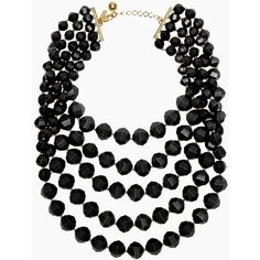 kate spade new york Cut To The Chase Bib Necklace ($75) ❤ liked on Polyvore