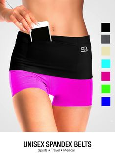Ice pack holder when out on a hot day?  Pickpocket Proof Fashion, Sport and Travel Accessories. Best travel money belt, cute fanny pack, insulin pump belt band, phone garter, wide running waist pack.