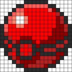 Cherishball Perler Bead Pattern / Bead Sprite