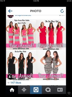 MORE New Arrivals over at @shopkikilarue!  You better believe I snagged the lower right corner one called It's Not Yours, It's Mayan (fitting, right?).  I will work off the baby weight when she is born & rock that dress!