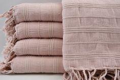 "33""x65"",Turkish Towel,Powder Pink Towel,Handmade Towel,Soft Towel,Turkish Dowry,Handmade Towel,Soft"